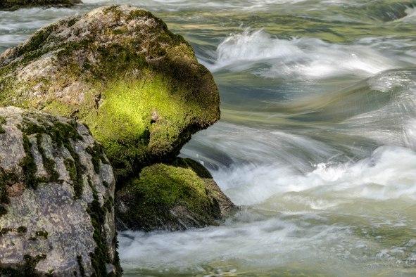 Rio Grande white water, 30 mi campground Rio Grande Natl Forest