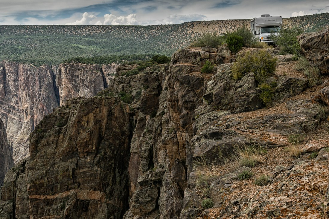 Traveling Silver at Black Canyon of the Gunnison