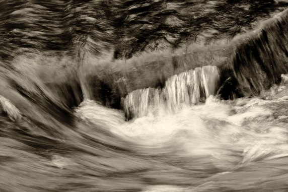 water over rock.Mavreeso CG, San Juan NF