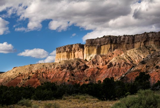 Ghost Ranch Yellow and Red Hills