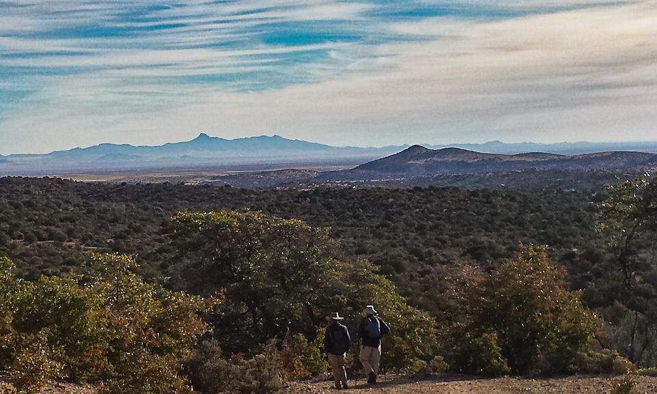 hiking CDTrail