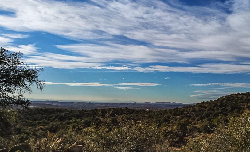 from Jacks Peak Trail on CDT